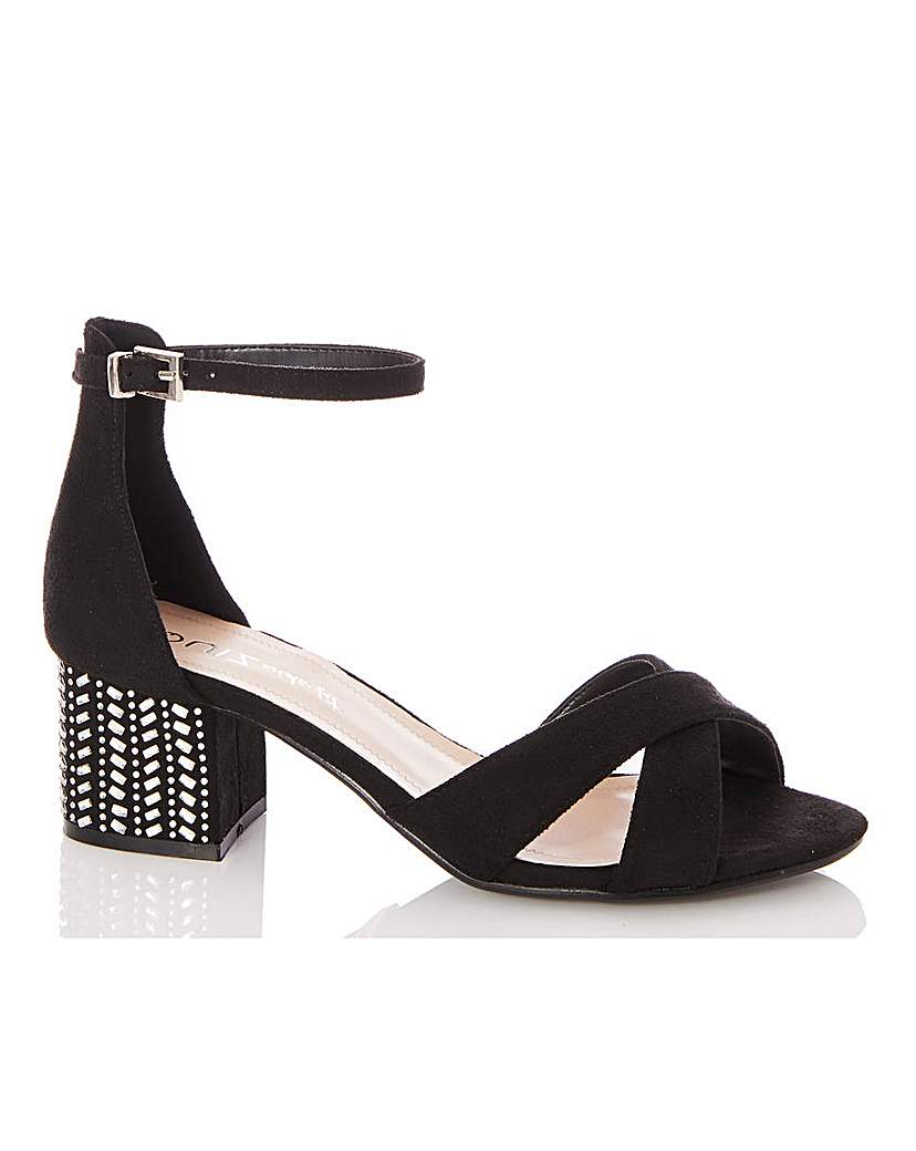 Quiz Quiz Block Heel Sandals