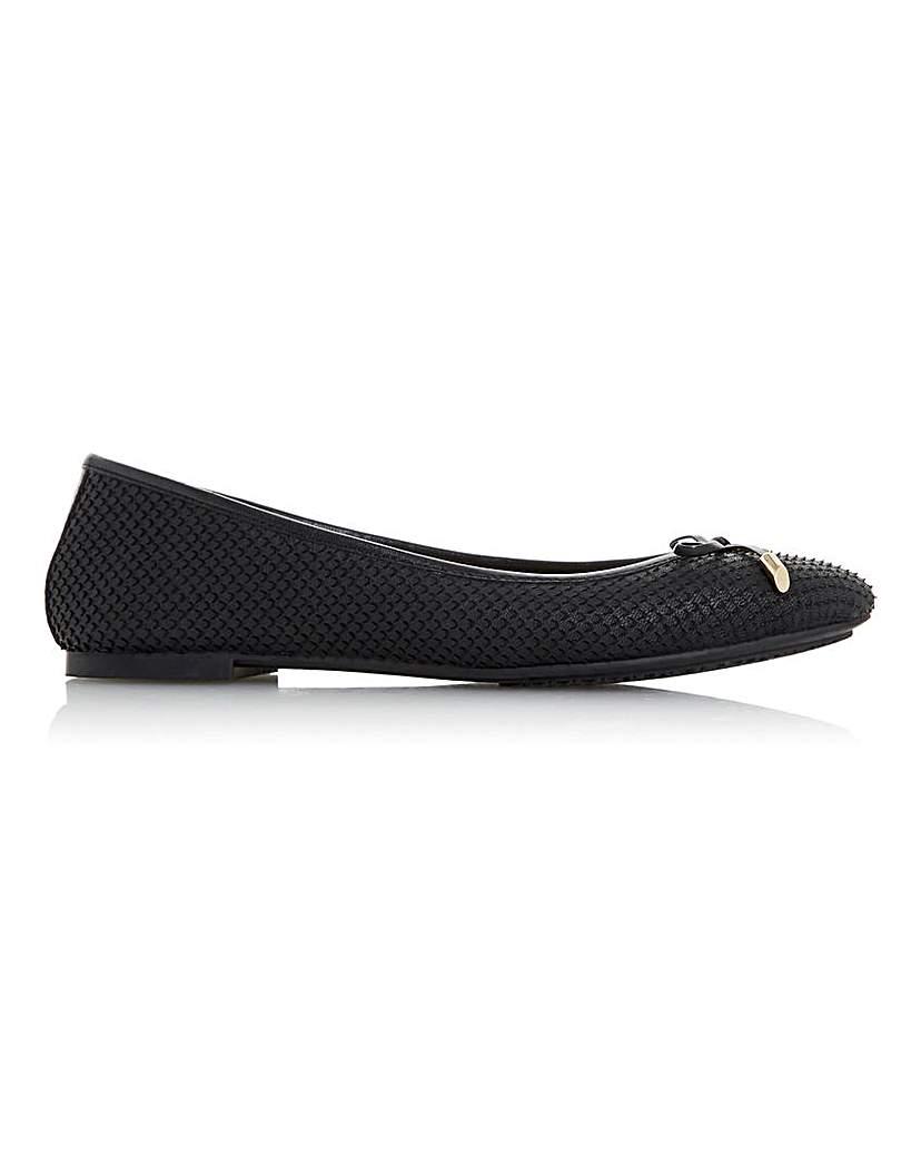 Dune Dune Harpar 2 Ballet Shoes E Fit