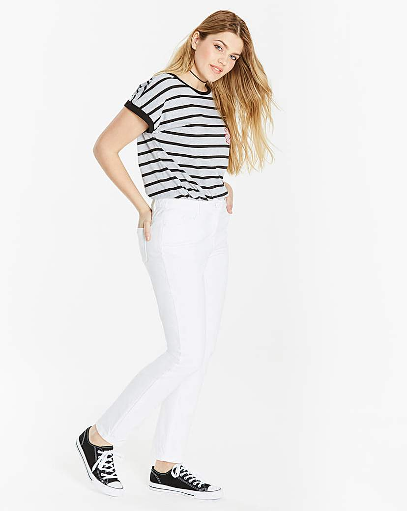 Simply Be Straight Leg Jeans