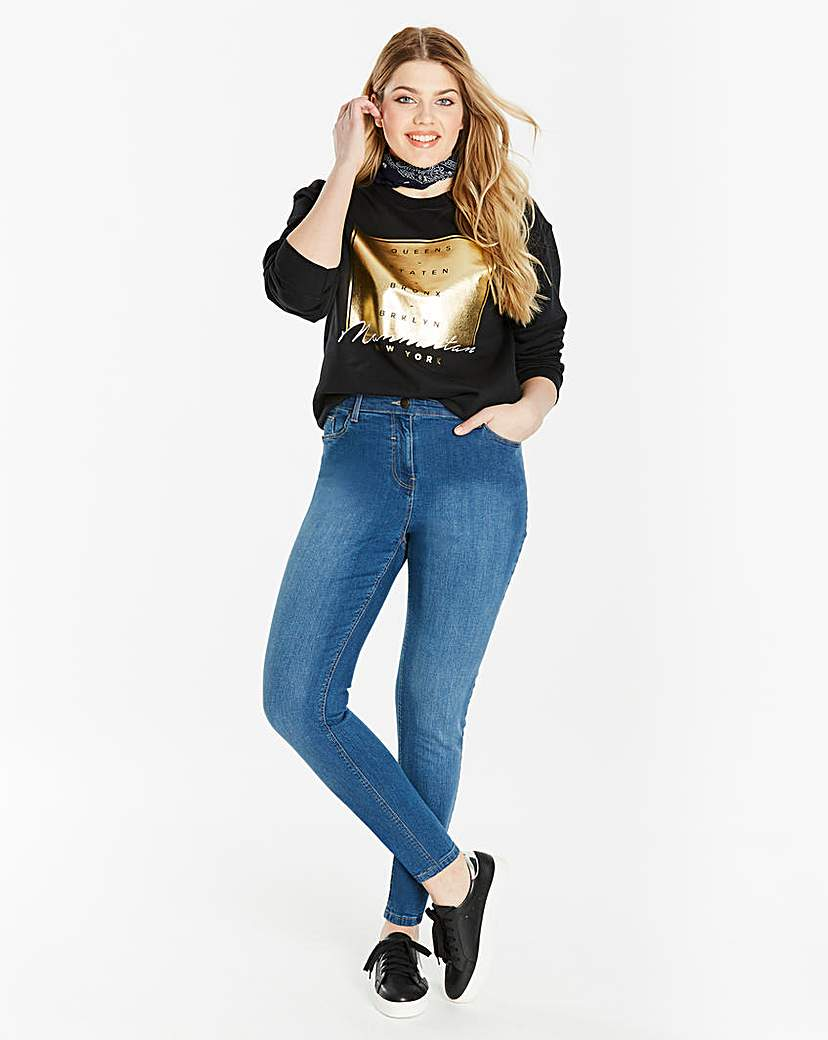 Simply Be Skinny Jeans Long