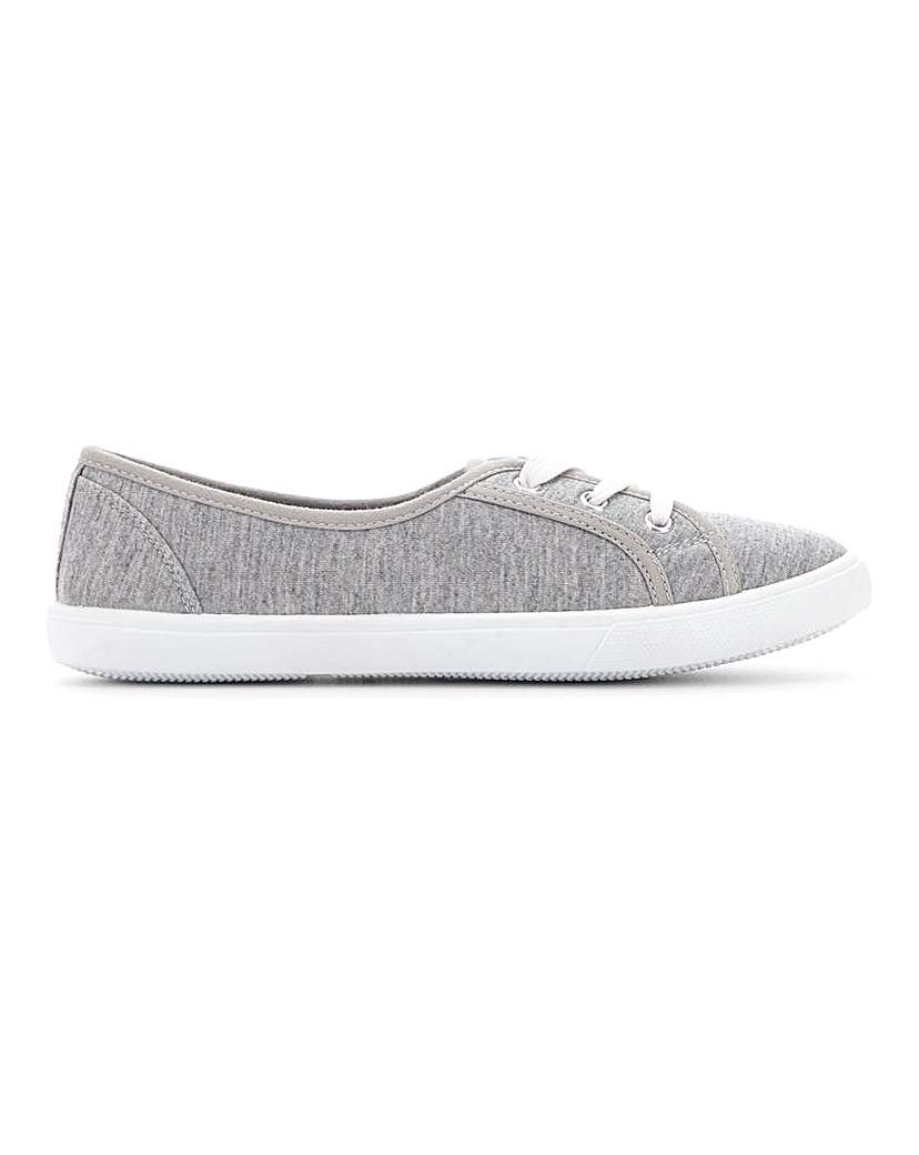 Simply Be Lilo Plimsolls Standard Fit