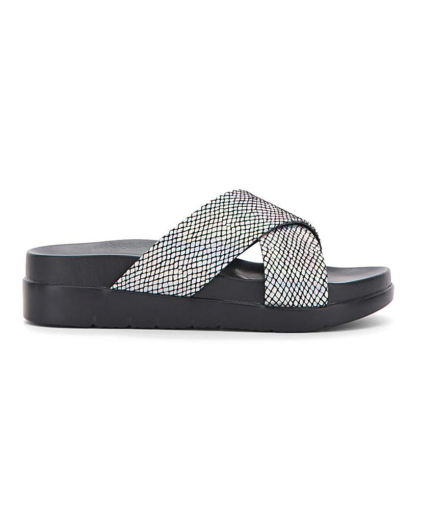 Simply Be Seville Footbed Flatform Extra Wide Fit