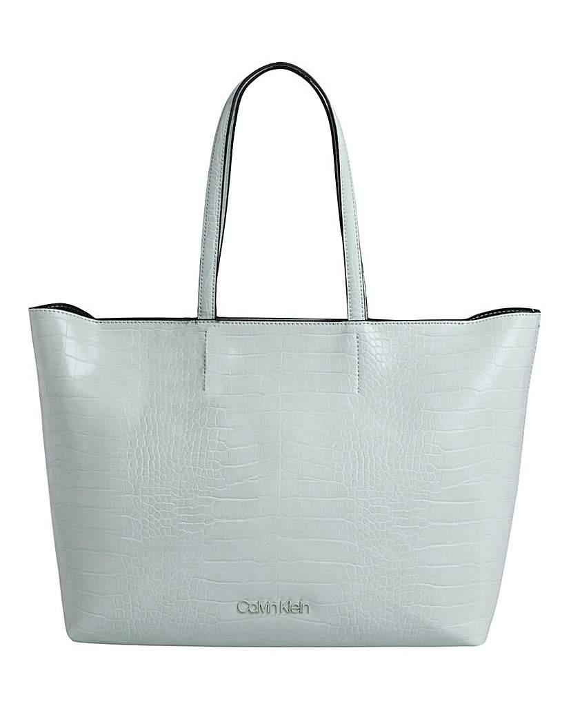 Calvin Klein Calvin Klein Croc Shopper Bag