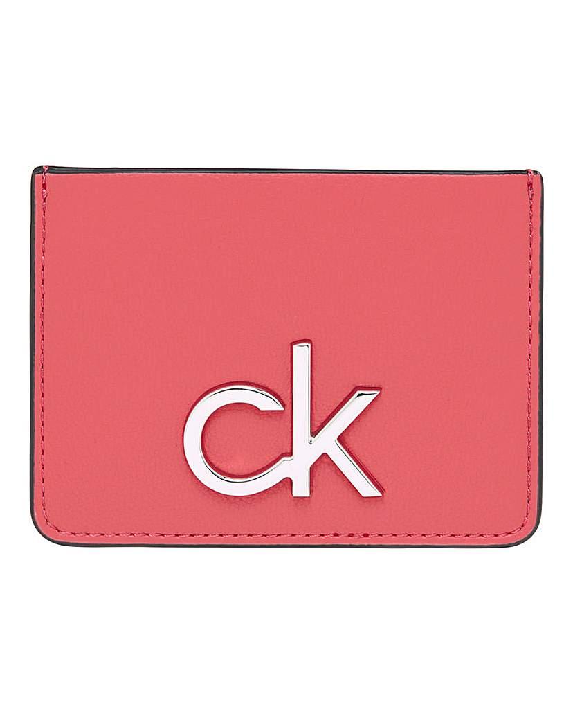 Calvin Klein Calvin Klein Re-Lock Cardholder Coral