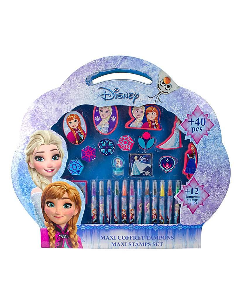 Image of DISNEY Frozen Maxi Stamps Set 49Pcs