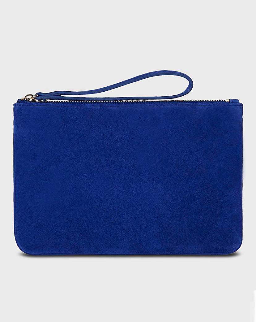 Hobbs Hobbs Navy Chelsea Wristlet Bag