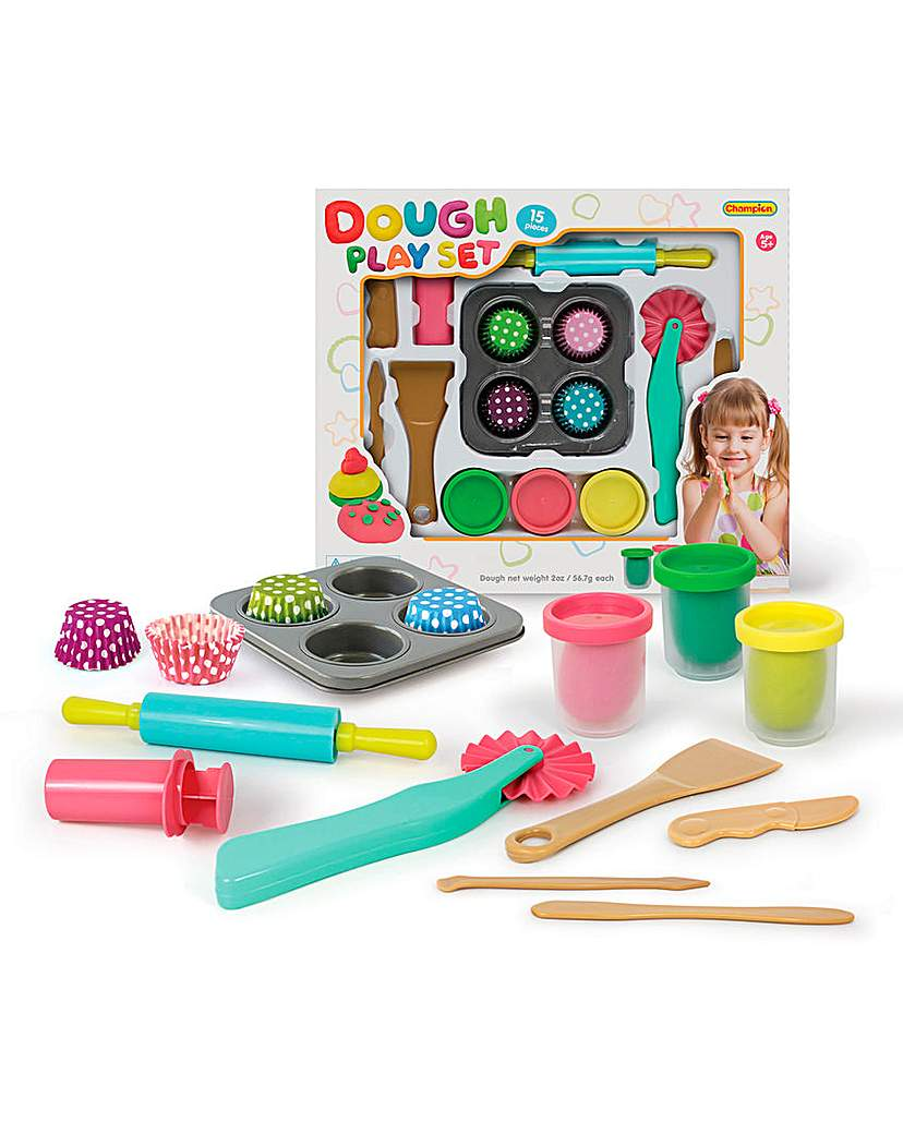 Image of 15 Piece Dough Set