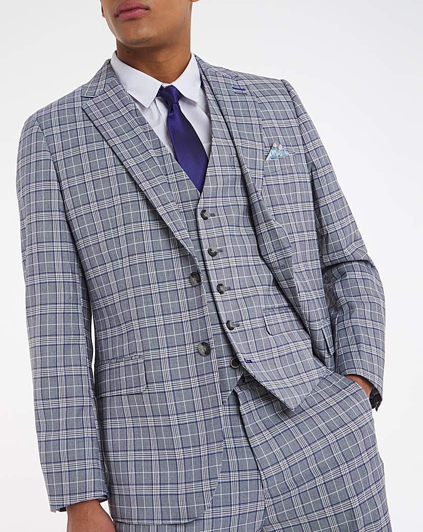 1930s Style Mens Suits Joe Browns Oslo Check Suit Jacket £99.00 AT vintagedancer.com