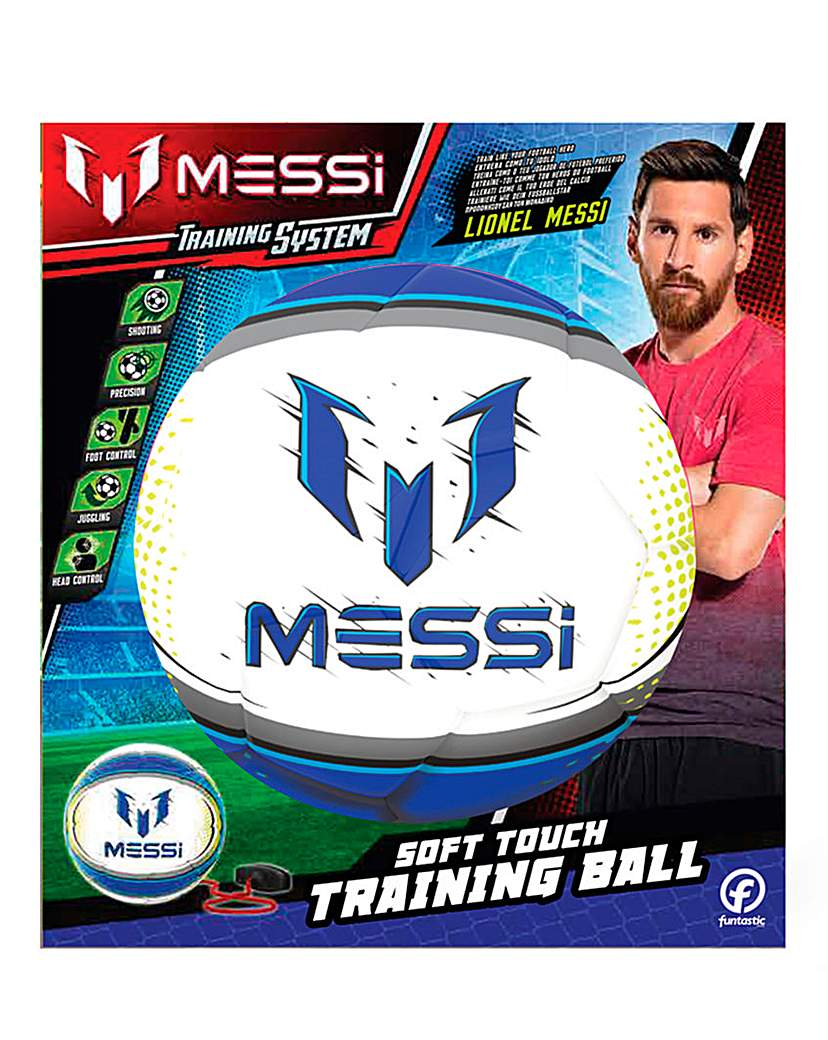 Image of Messi Training 2in1 Soft Ball-White