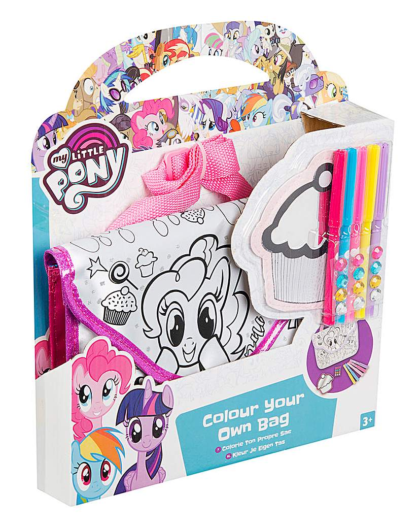 Image of My Little Pony Colour Your Own Bag