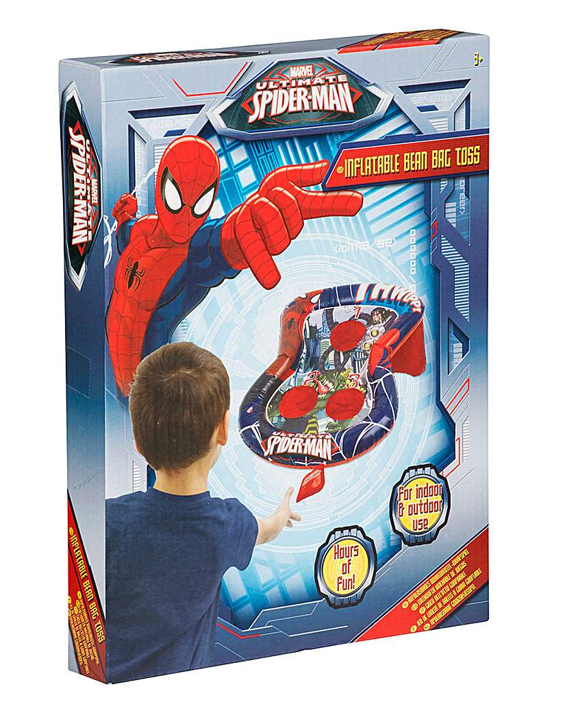 Image of Spider-Man Inflatable Bean Bag Toss