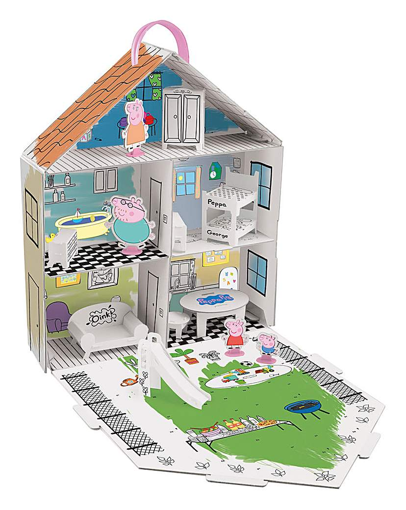 Image of Peppa Pig Decorate Peppa's House