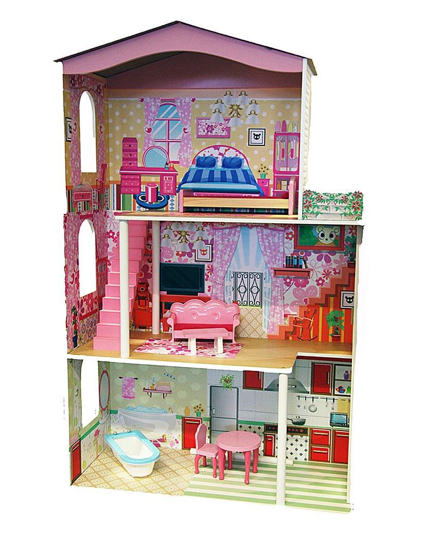 Image of Wooden Dolls House 1.2M