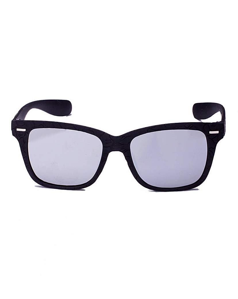 Divine Dixie Retro Black Sunglasses