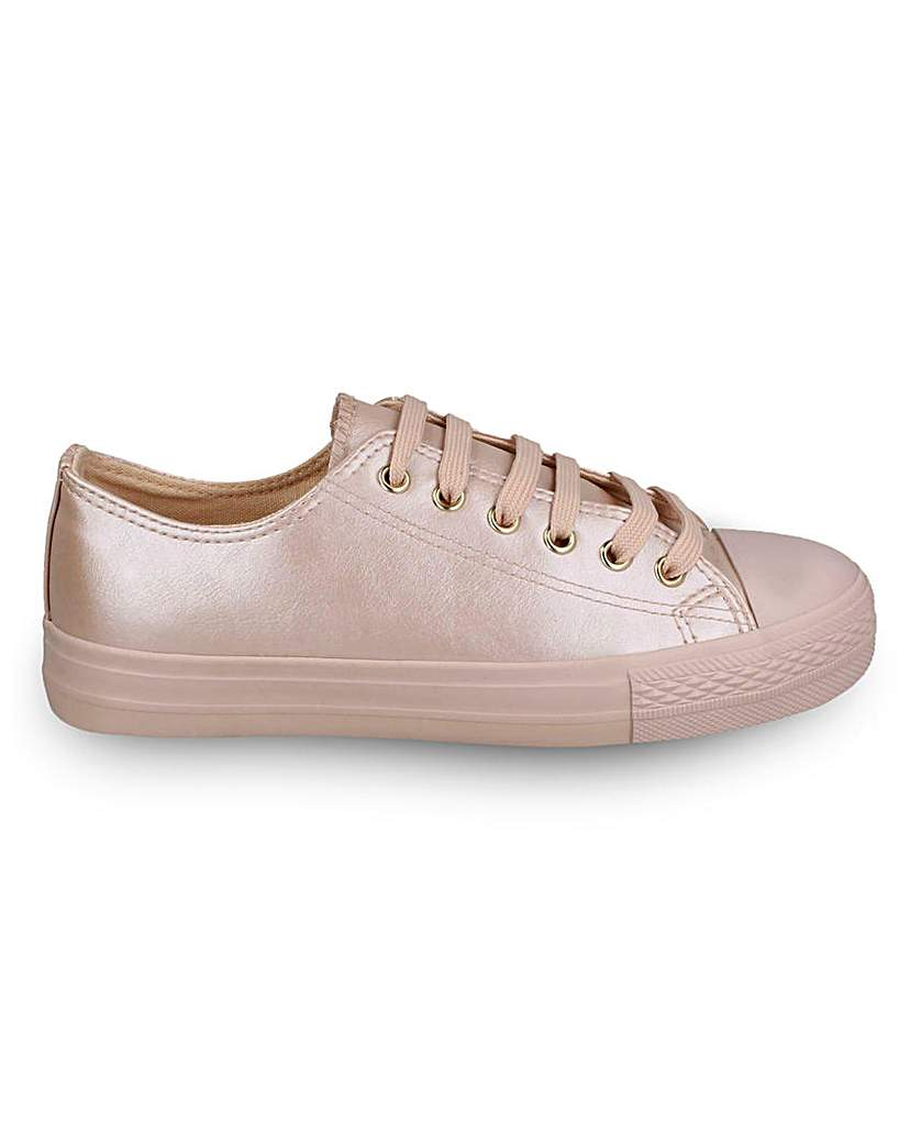 Simply Be Luella Lace Up Shoes Standard Fit