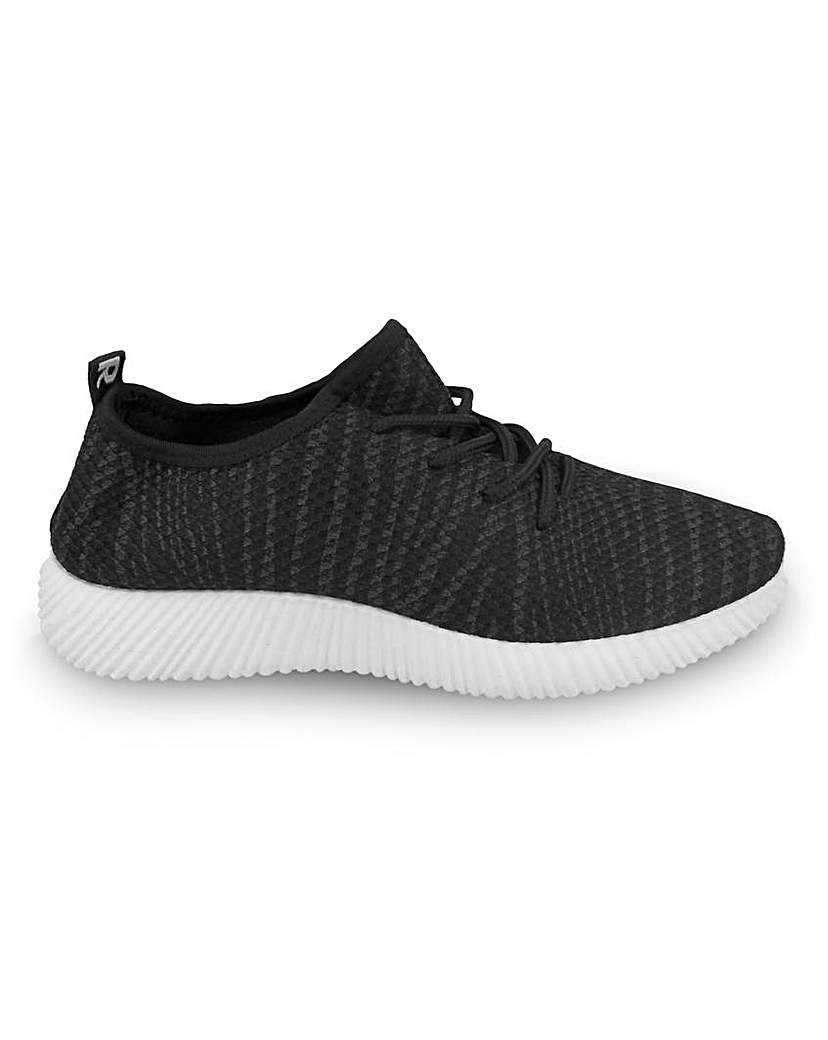 Simply Be Jana Lace Up Trainers Standard Fit