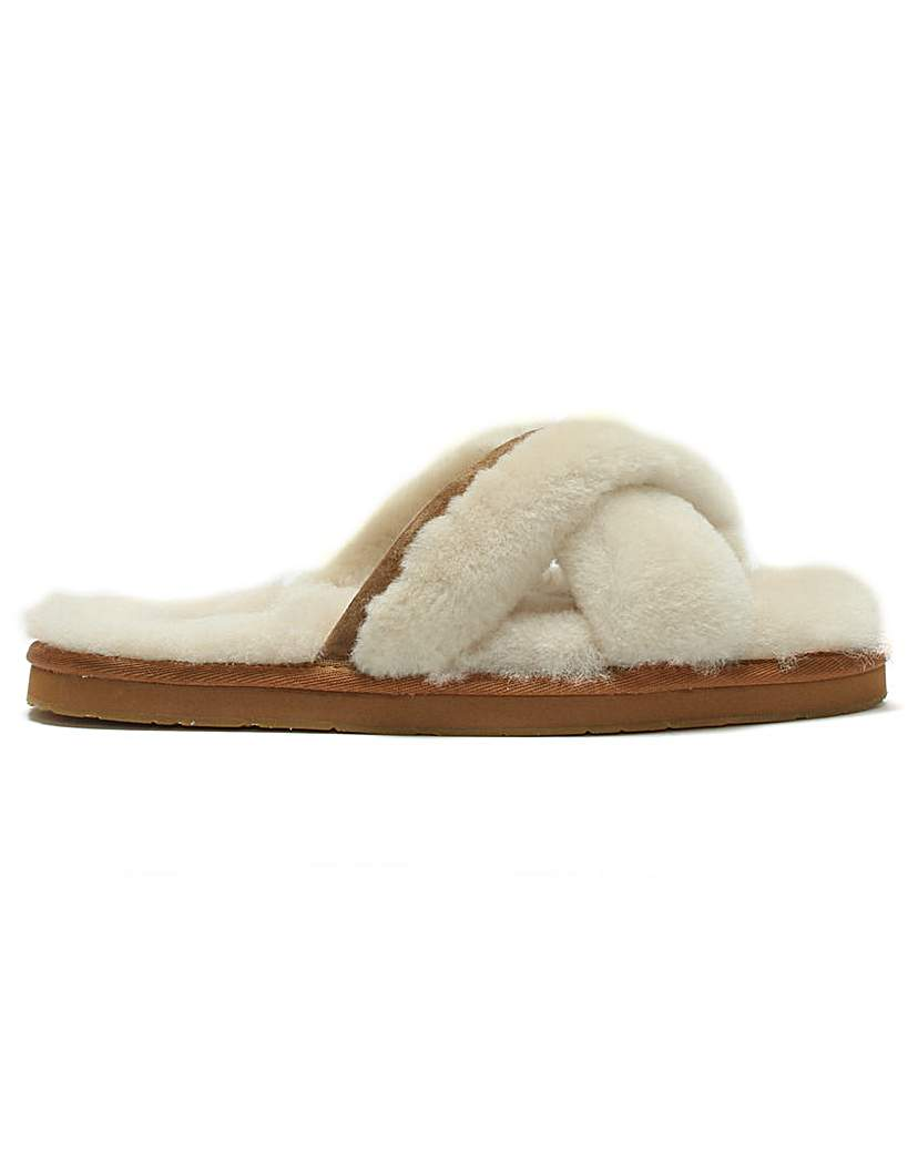 UGG Abela Sheepskin Slippers