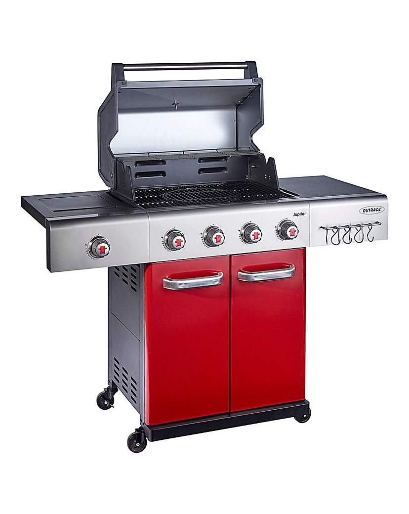 Image of Outback Jupiter 4 Burner Gas Barbecue