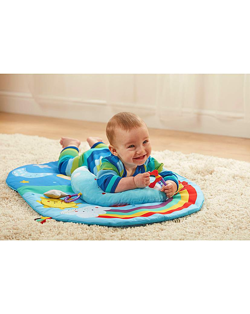 Image of Baby Sensory Say Hello Tummy Time Mat
