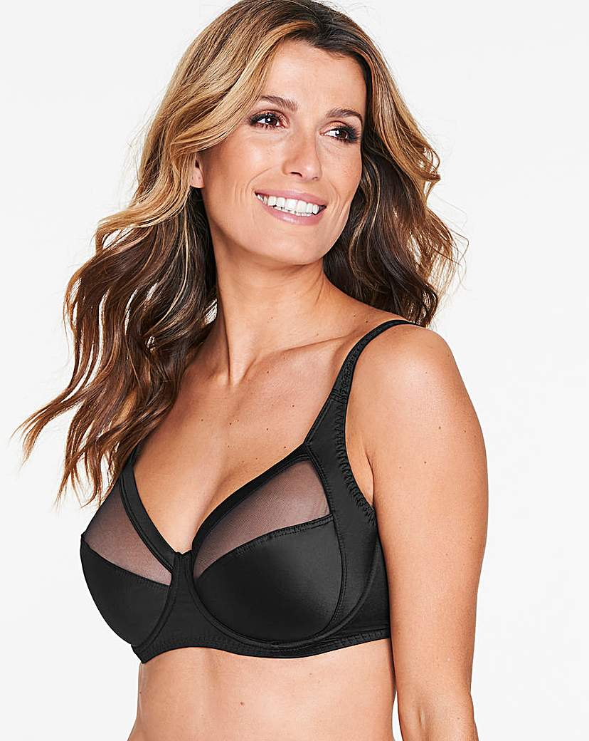 Image of Playtex Perfect Silhouette Black Bra