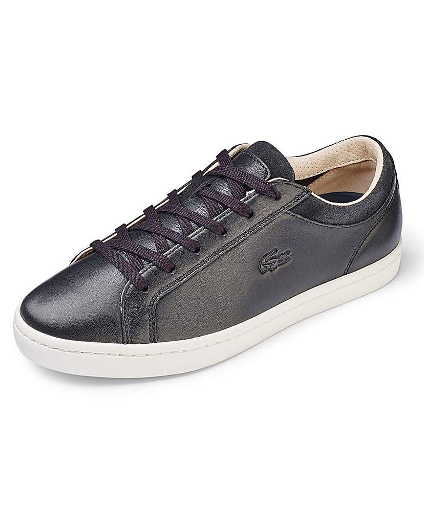 Lacoste Lacoste Straightset Soft Leather Trainer