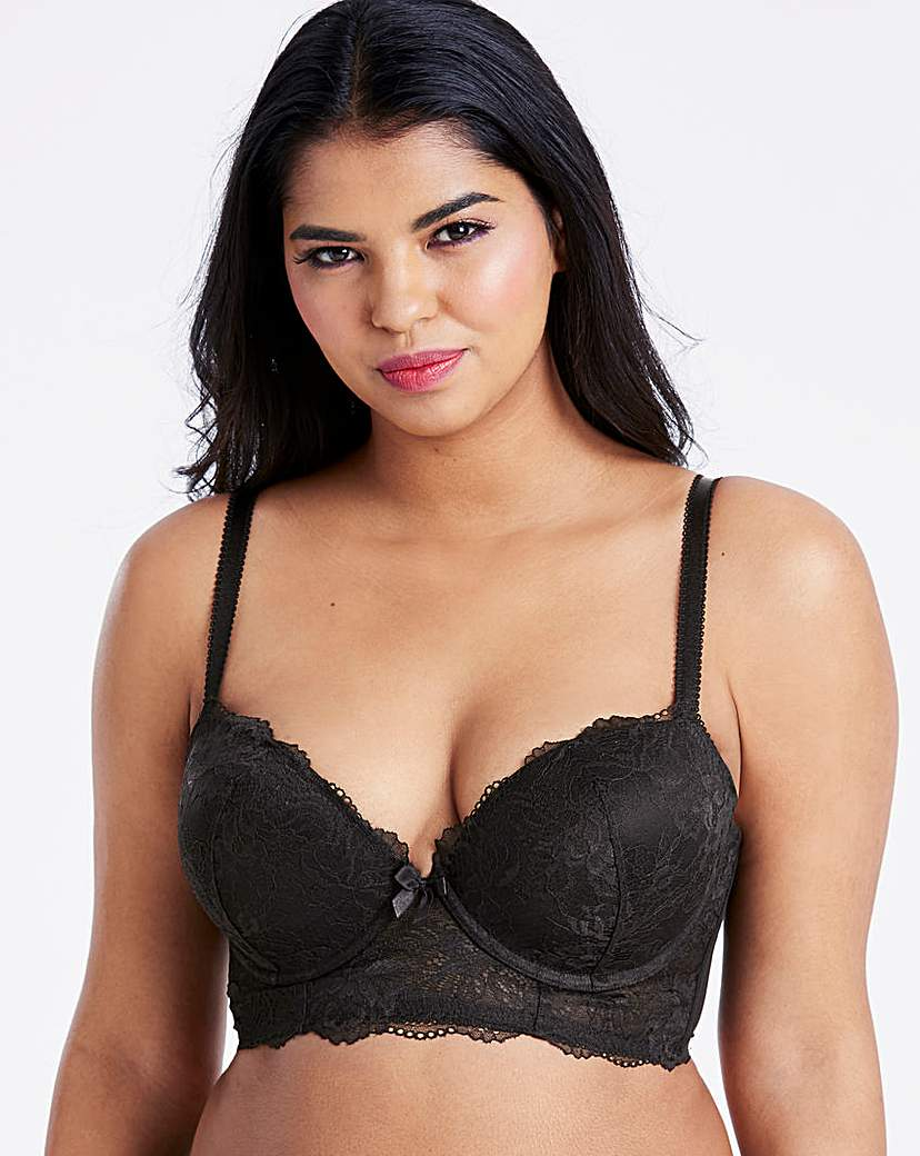Pretty Secrets Ella Lace Ultimate Boost Plunge Bra