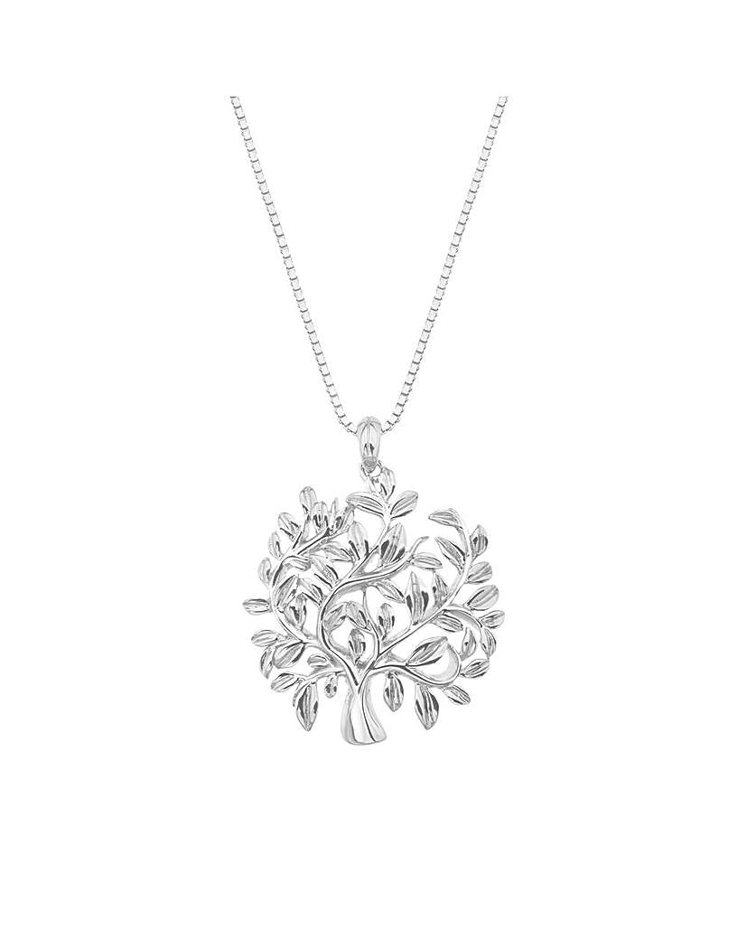 Image of Hot Diamonds Passionate Tree Pendant