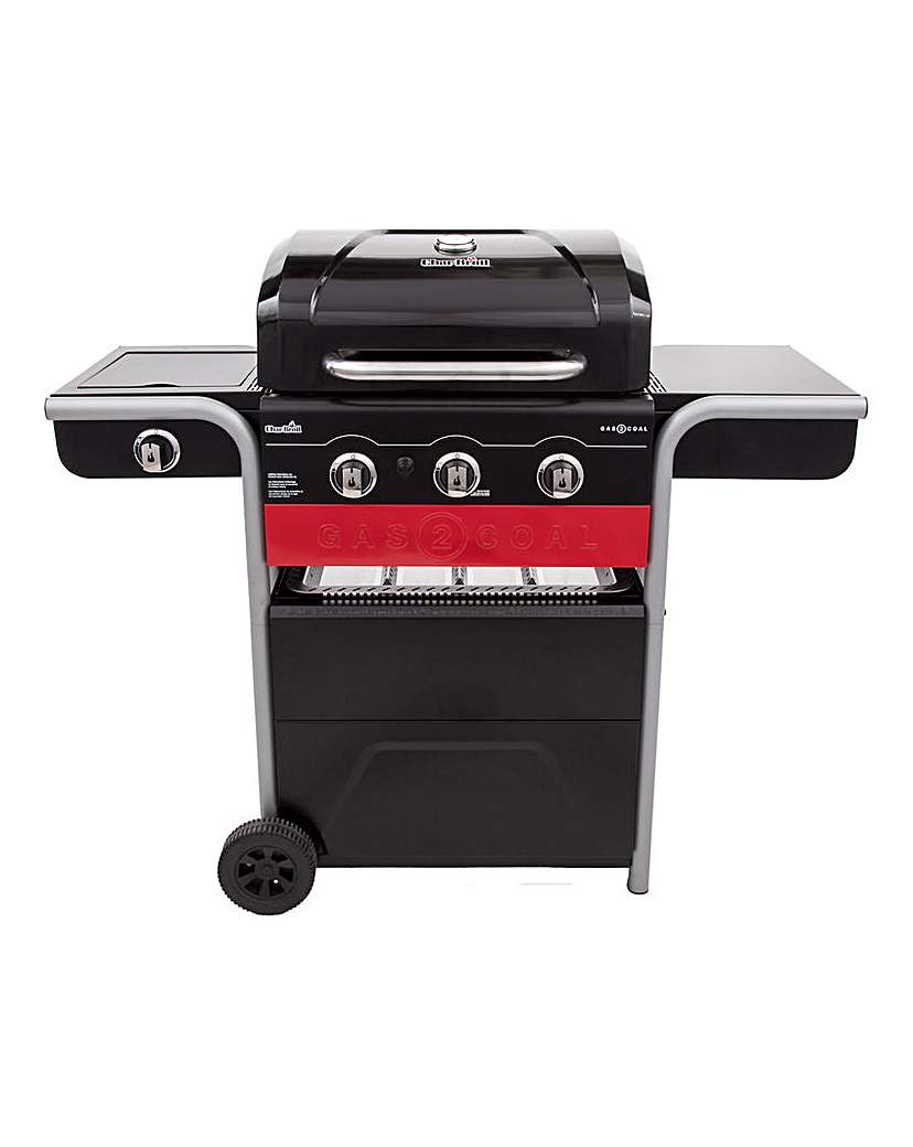 Image of Char-Broil Gas2Coal BBQ