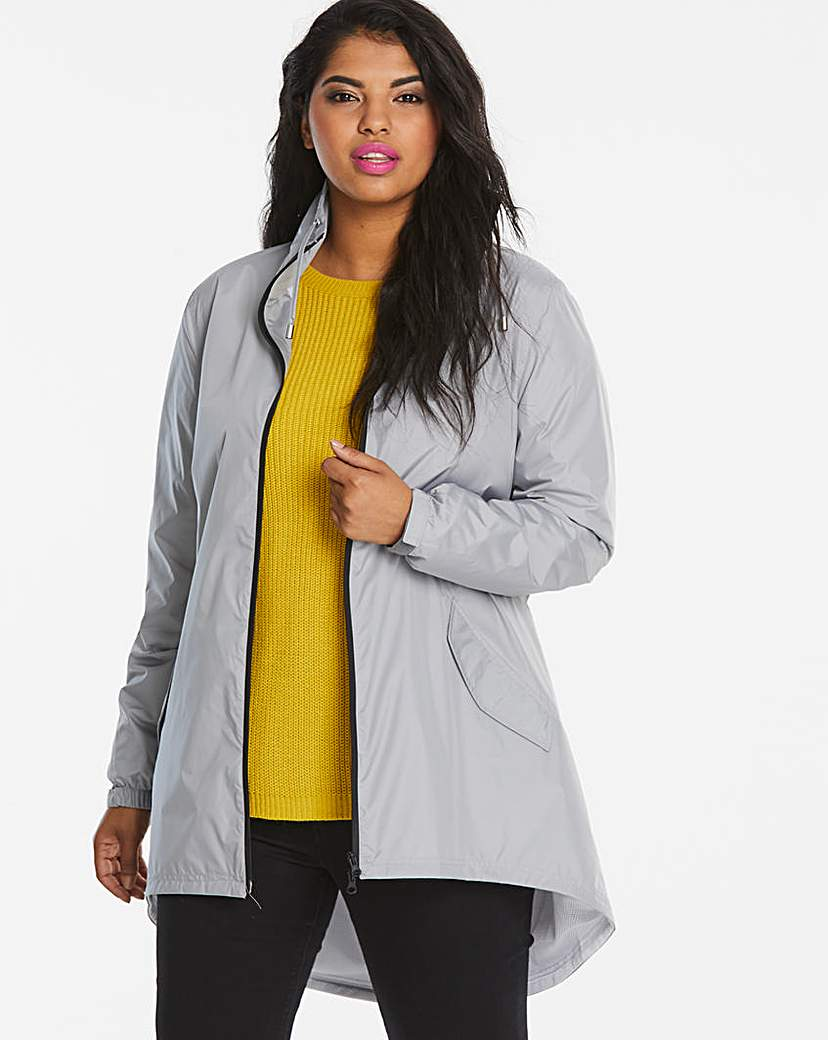 Simply Be Shower Resistant Lightweight Parka