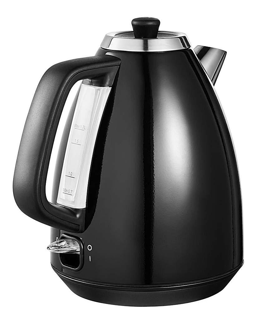 Image of 1.7Litre Rapid Boil Black Kettle