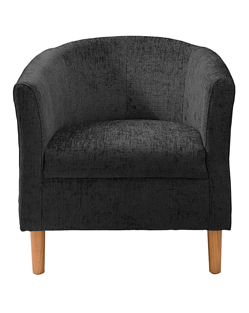 Millie Chenille Tub Chair