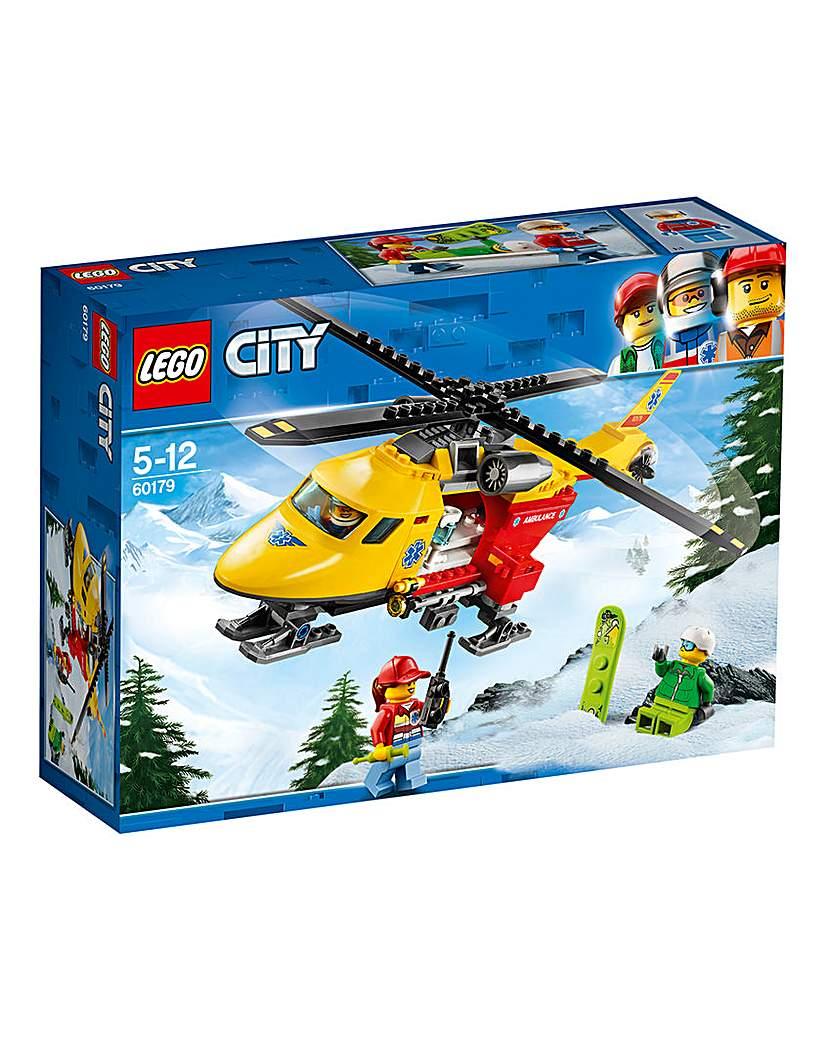 Image of LEGO City GV Ambulance Helicopter