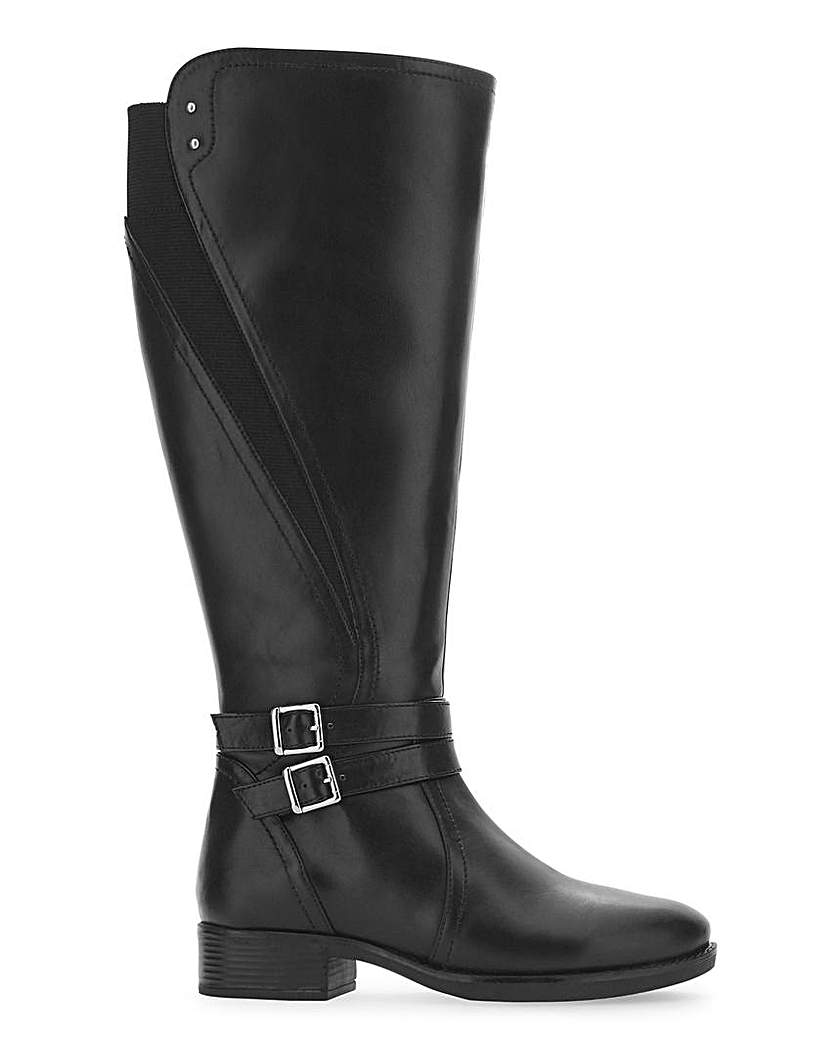 JD Williams Buckle Boots EEE Fit Curvy Calf