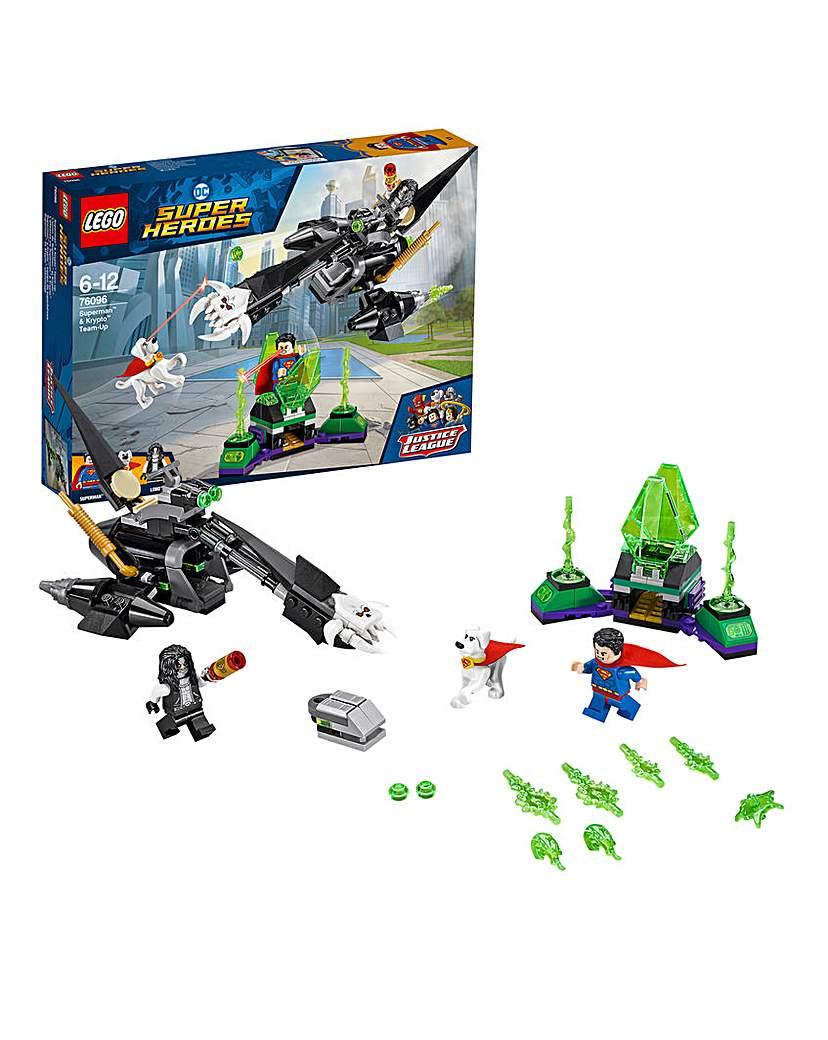 Image of LEGO DC Superman & Krypto Team-Up