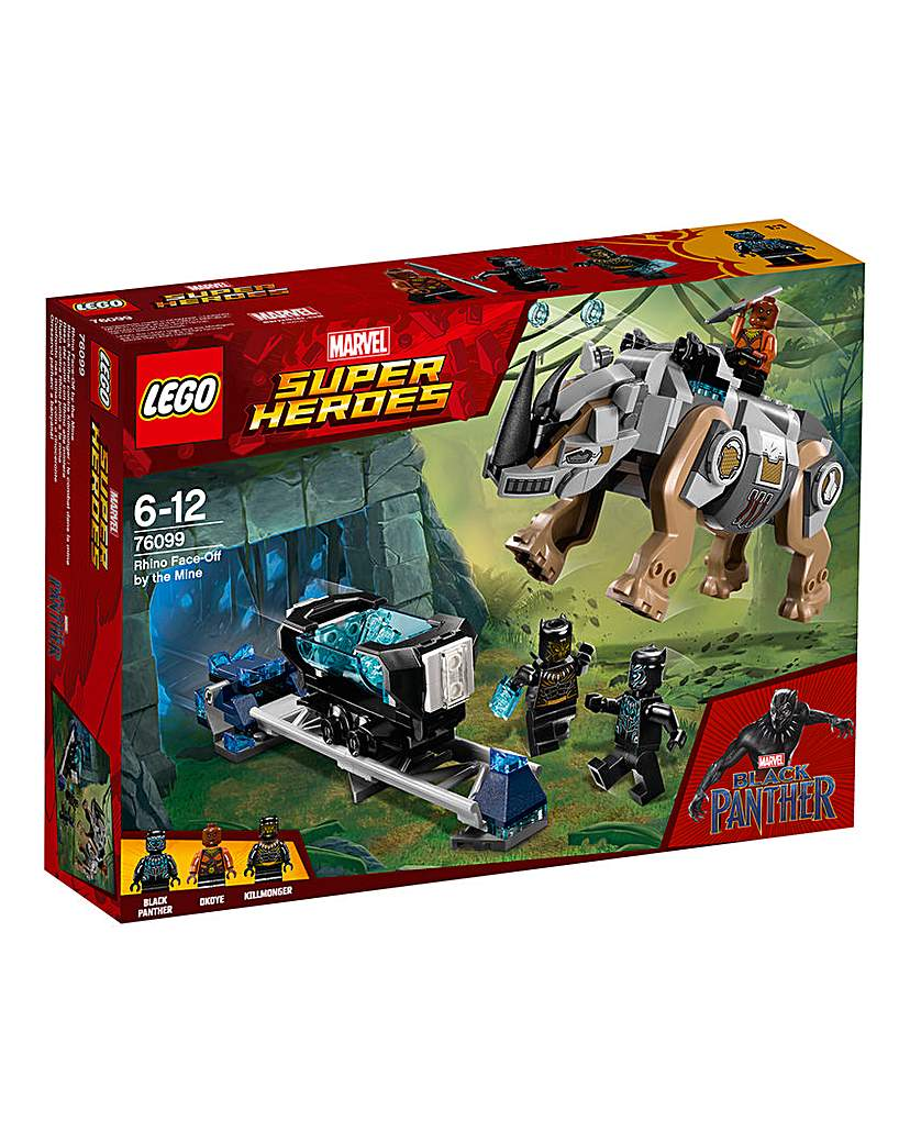 Image of LEGO Marvel Rhino Face-Off by the Mine
