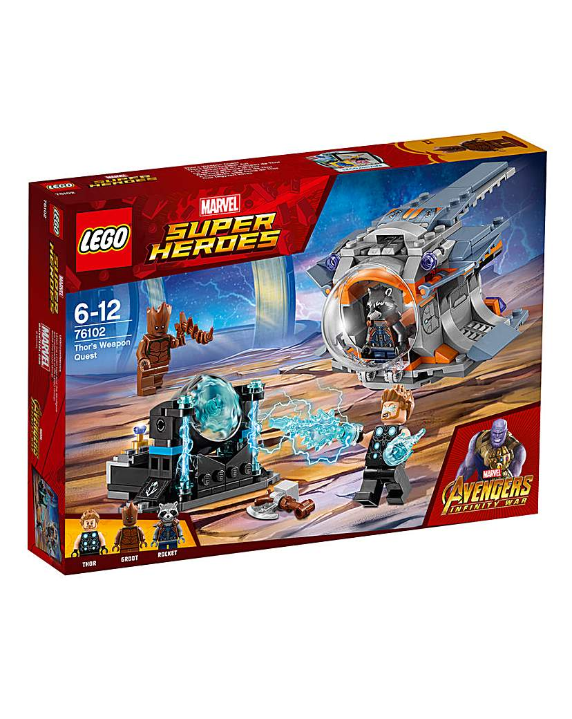 Image of LEGO Marvel Thor's Weapon Quest