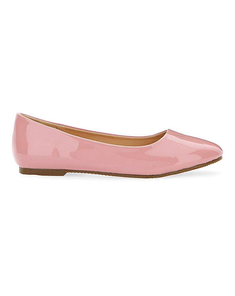 JD Williams Ballerina Shoes D Fit