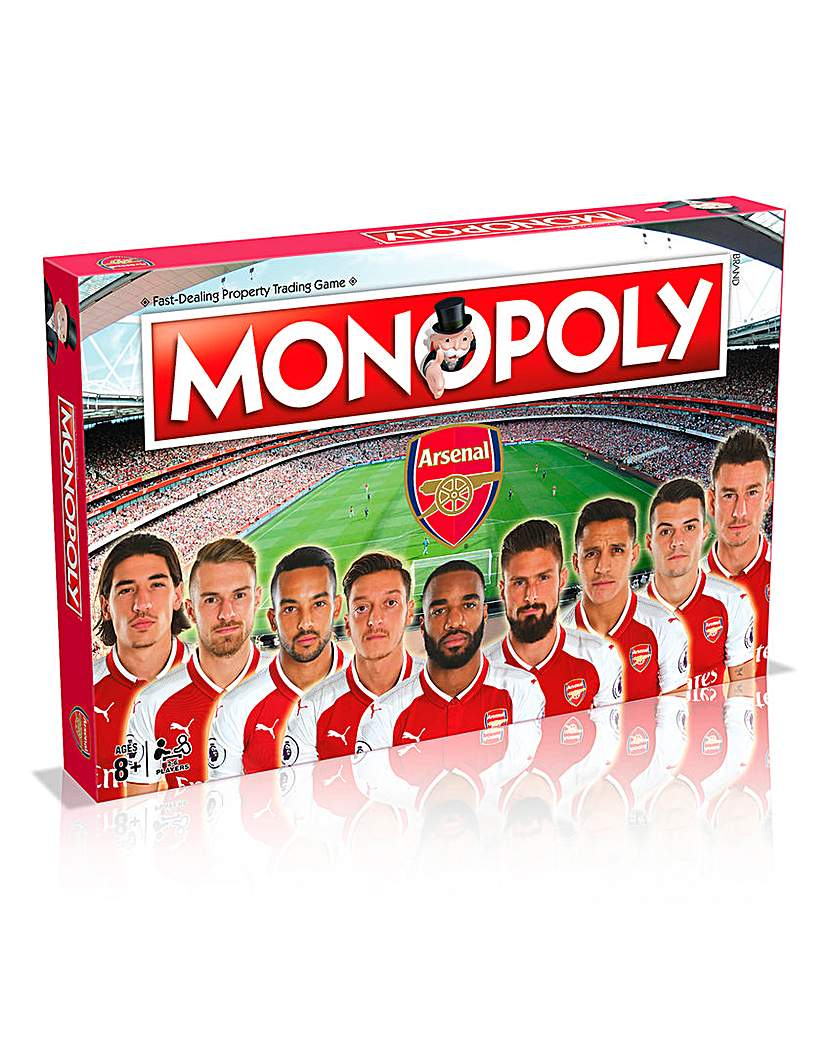 Image of Monopoly - Arsenal FC