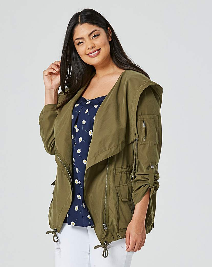 Simply Be Waterfall Parka