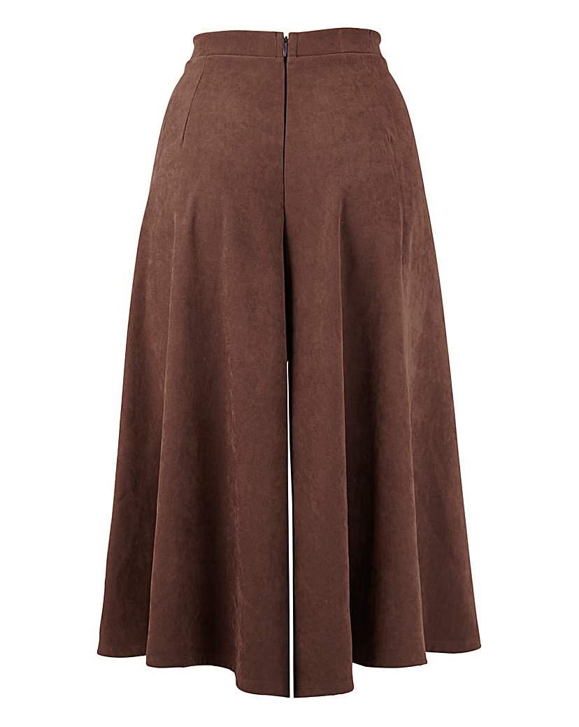 1930s Wide Leg Pants and Beach Pajamas Suedette Culottes £22.00 AT vintagedancer.com