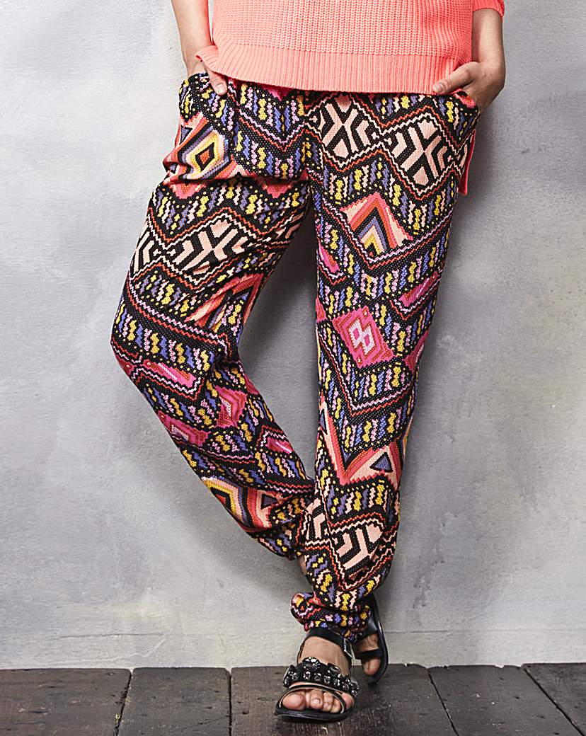 Crinkle Hareem Trousers