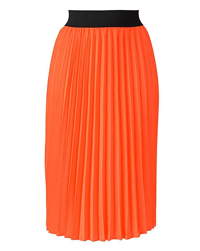 Simply Be Sunray Pleat Skirt