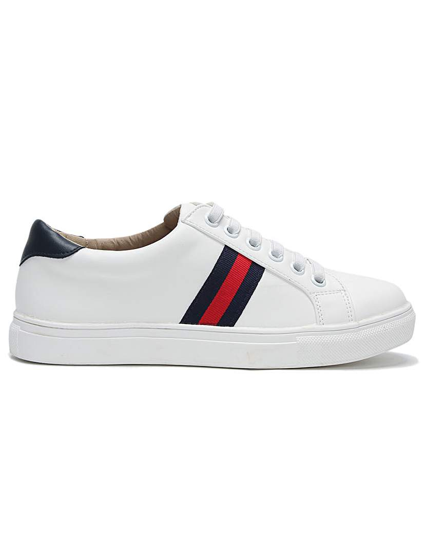 DF By Daniel Striper Lace Up Trainers