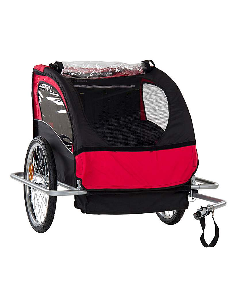 Two Seater Childrens Bike Trailer