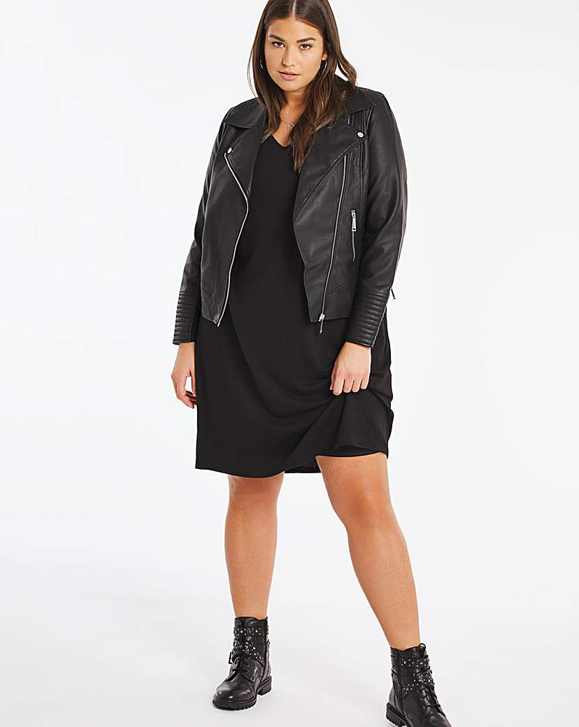 Capsule Soft Touch Loose V Neck Dress