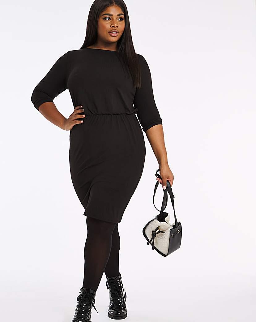 Capsule Blouson Top Bodycon Dress