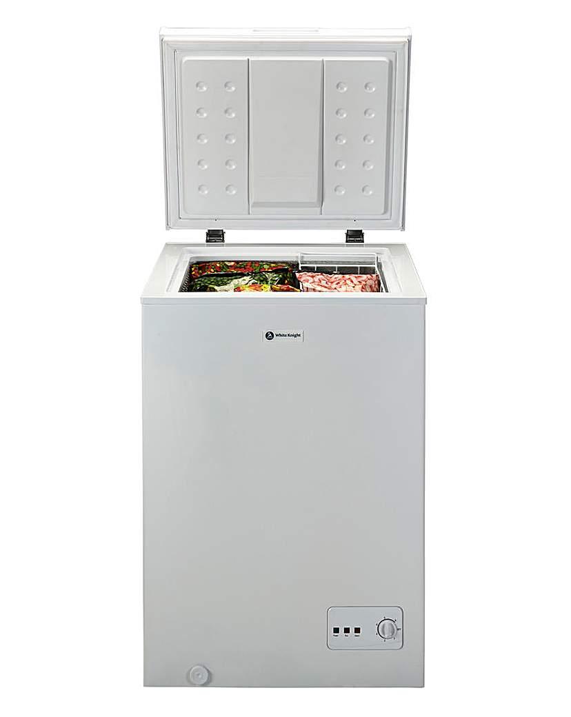 White Knight 99L Chest Freezer
