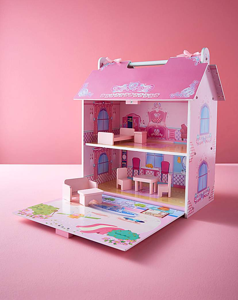 Image of Wooden Dolls House