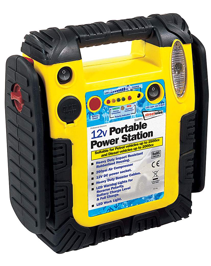 Power Pack 900 Amp 260psi Air Comp