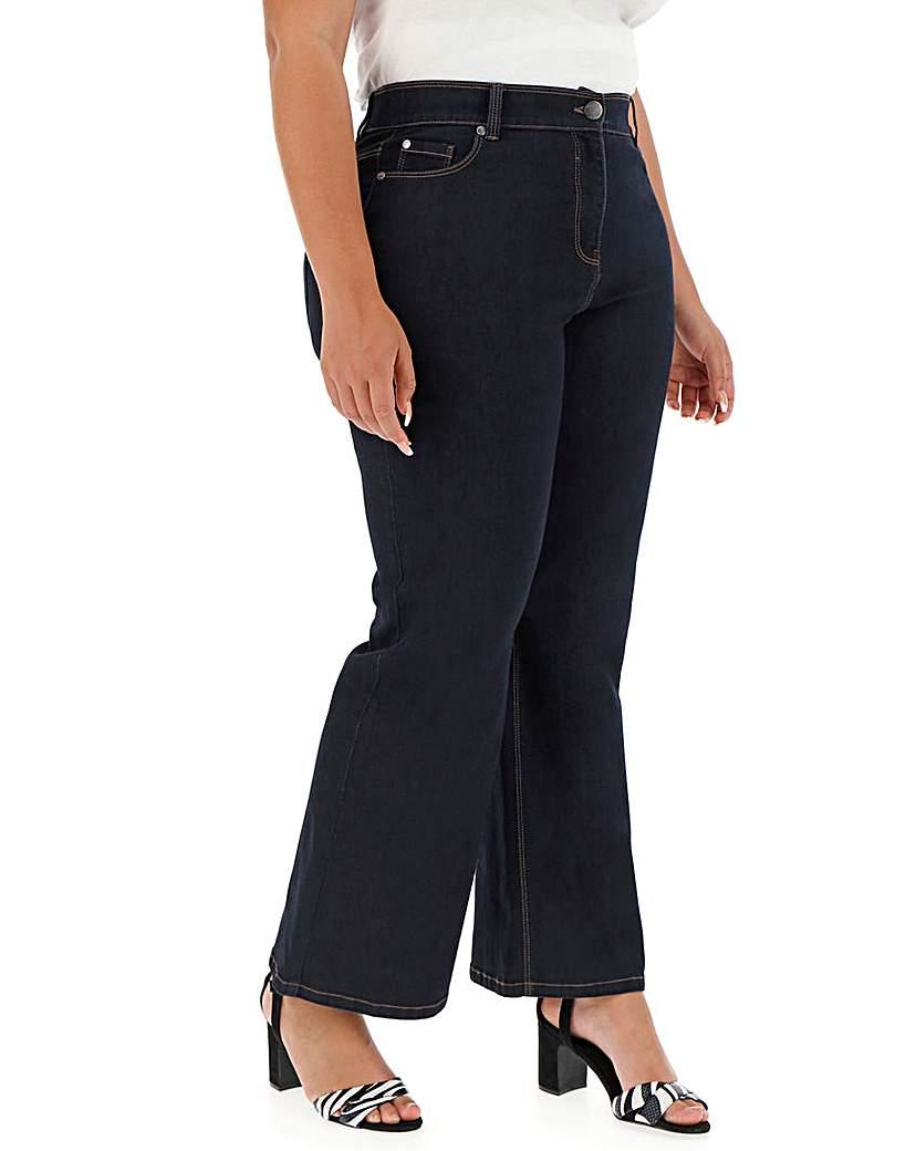 Capsule 24/7 Indigo Wide Leg Jeans Petite